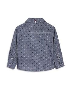 Armani Junior - Boys' Check Woven Shirt - Baby