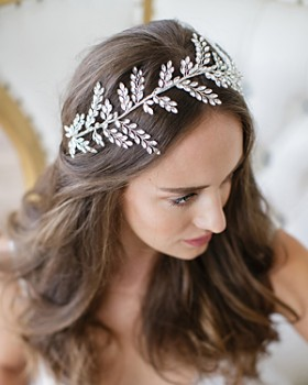 Brides and Hairpins - Kira Halo Headpiece