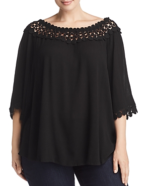 New Estelle Nightfall Embroidered Top - 100% Exclusive, Black