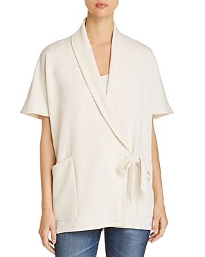 Eileen Fisher Draped Wrap Jacket