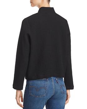 Eileen Fisher - Waffle-Knit Zip-Up Jacket