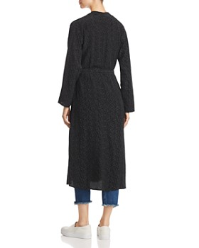 Eileen Fisher Petites - Morse Code Print Duster Jacket