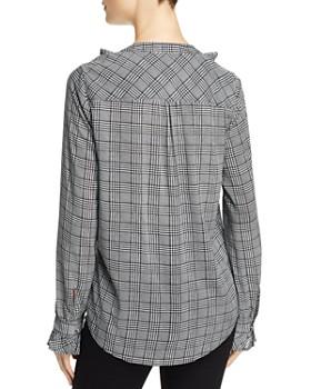 PAIGE - Amalfi Houndstooth Shirt - 100% Exclusive