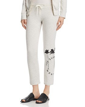 Monrow - x The Surf Lodge Vintage Graphic Sweatpants