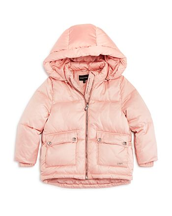 Armani - Girls' Puffer Jacket - Little Kid, Big Kid