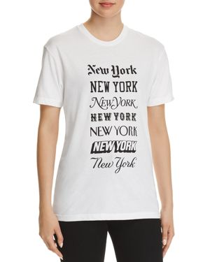 KNOWLITA NEW YORK MEDIA TEE - 100% EXCLUSIVE