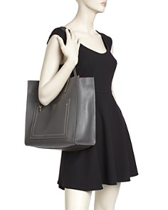 MARC JACOBS - Grind T-Pocket Leather Tote