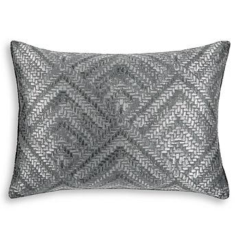 Hudson Park Collection - Woven Diamond King Sham - 100% Exclusive