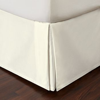 Hudson Park Collection - Marbled Deco Bedskirt, King - 100% Exclusive