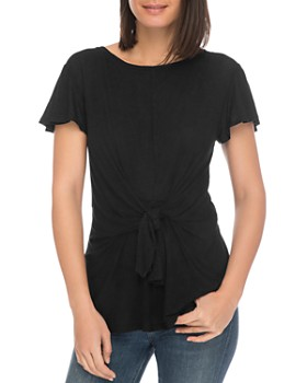 B Collection by Bobeau - Rylee Tie-Front Tee