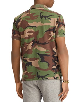Polo Ralph Lauren - Polo Camouflage-Print Mesh Classic Fit Polo Shirt