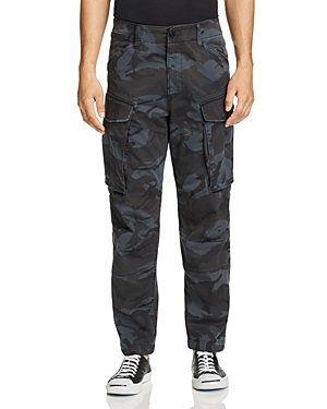 G-star Raw Rovic 3D Straight Tapered Camouflage-Print Cargo Pants