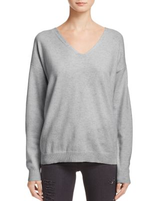 Lace Up Back Cashmere Sweater   100 Percents Exclusive by Aqua Cashmere