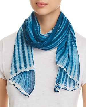 Eileen Fisher Tie-Dye Silk Scarf