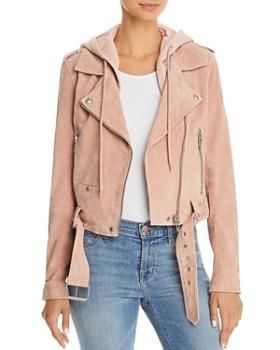 BLANKNYC - Suede Moto Jacket - 100% Exclusive