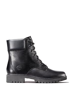 Timberland Women's Jayne Round Toe Waterproof Leather Boots