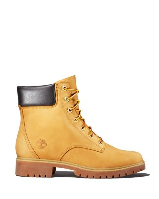 Women's Jayne Round Toe Waterproof Leather Boots by Timberland