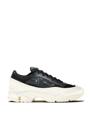 ADIDAS BY RAF SIMONS Raf Simons For Adidas Women'S Ozweego Leather Lace Up Sneakers, White
