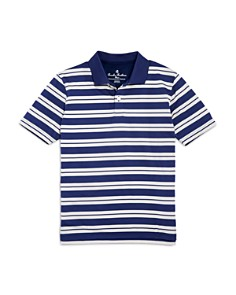 Brooks Brothers - Boys' Striped Performance Polo - Little Kid, Big Kid
