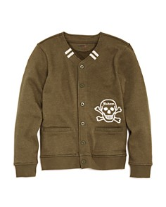 Hudson Boys' French Terry Letterman Sweater, Big Kid - 100% Exclusive - Bloomingdale's_0