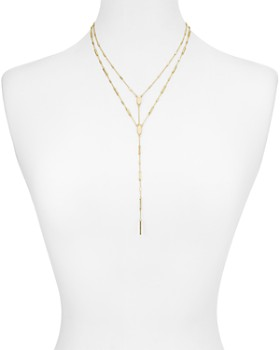 Kendra Scott - Adelia Layered Lariat Necklace, 18""