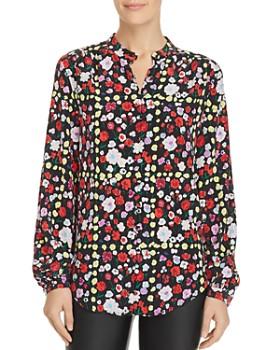 Equipment - Cornelia Floral Silk Shirt