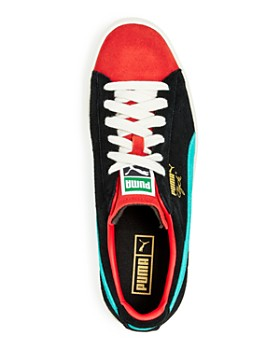 PUMA - Men's Clyde from the Archive Color-Block Suede Lace-Up Sneakers