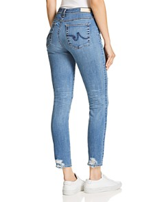 AG - Prima Ankle Rip Cigarette Jeans in 17 Years Enduring