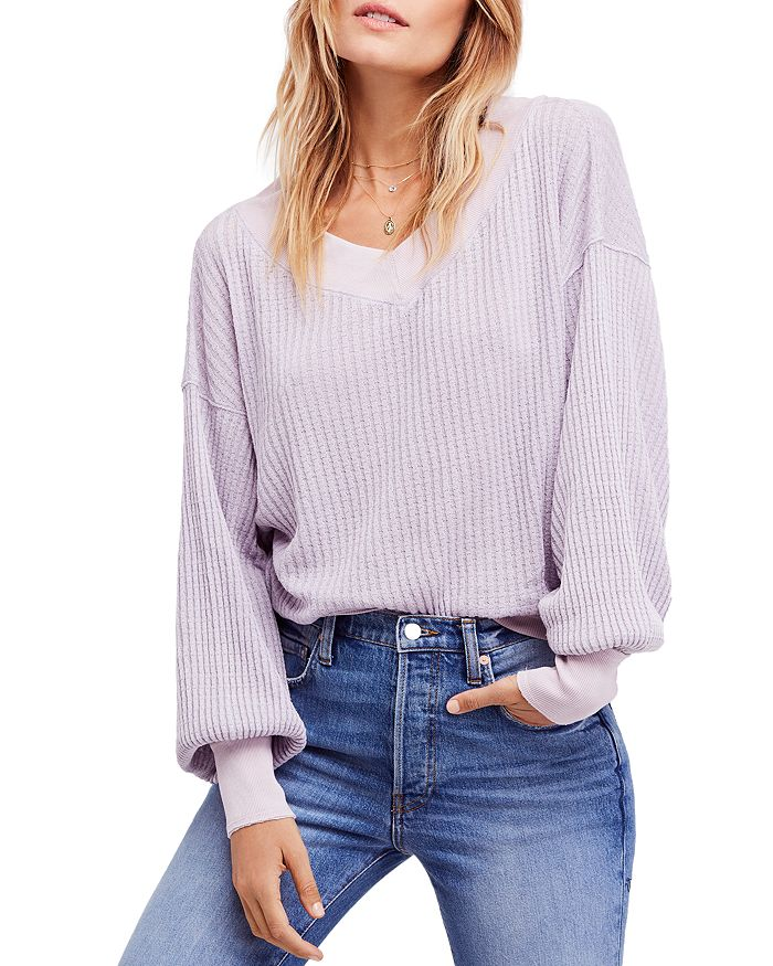 e70a74c163 Free People - South Side Thermal Sweater