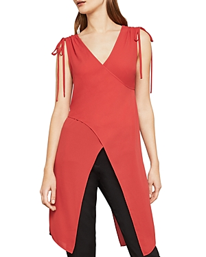 Bcbgmaxazria Crossover Draped Top