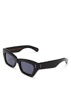 Pared Eyewear - Women's Petite Amour Slim Rectangular Sunglasses, 50mm