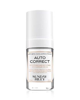 SUNDAY RILEY - Auto Correct Brightening & Depuffing Eye Contour Cream 0.5 oz.