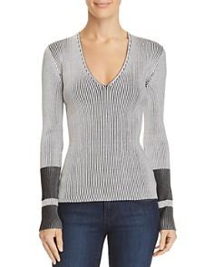 Theory - Optic Stripe Sweater