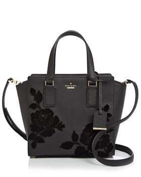 kate spade new york - Cameron Street Hayden Velvet Roses Small Leather Crossbody