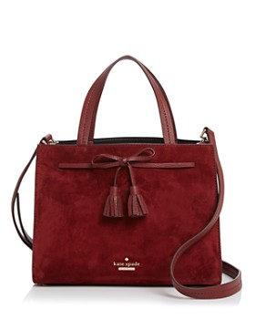 kate spade new york - Hayes Street Sam Medium Suede Crossbody