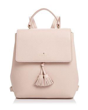 Hayes Street - Teba Leather Backpack - Pink, Warmvellum Pink/Gold
