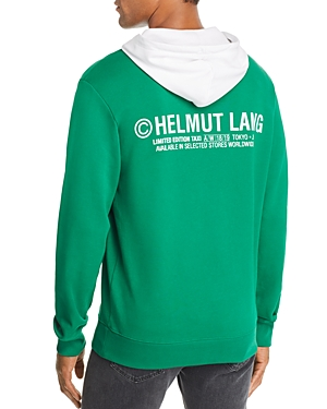 Helmut Lang Taxi Graphic Hooded Sweatshirt