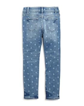 DL1961 - Girls' Faded Polka-Dot Skinny Jeans - Little Kid