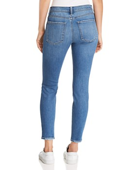 Current/Elliott - The Stiletto Distressed Ankle Skinny Jeans in 2 Year Destroy Stretch Indigo