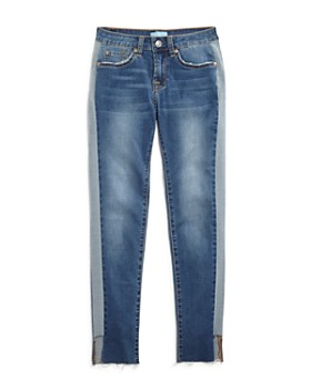 7 For All Mankind - Girls' Blair Contrast Skinny Jeans - Little Kid, Big Kid