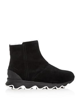 Sorel - Women's Kinetic Nubuck Leather Platform Booties