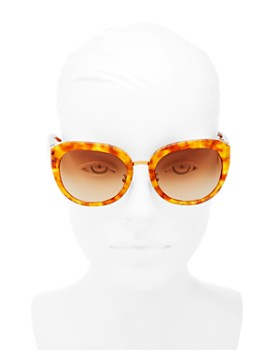 Tory Burch - Women's Reva Round Sunglasses, 56mm