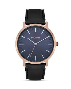 Nixon - Porter Black Strap Watch, 40mm