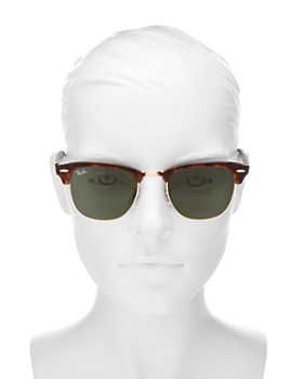 Ray-Ban - Unisex Classic Clubmaster Sunglasses, 50mm