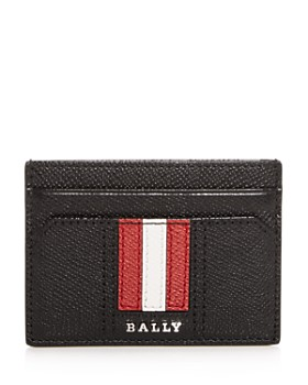 Bally - Thar Embossed Leather Card Case