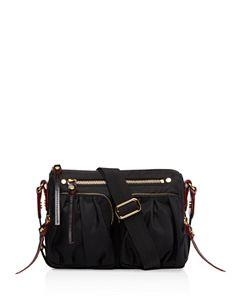 d18c9ea6cb396 MARC JACOBS Recruit Nomad Leather Saddle Bag