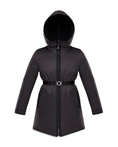 Moncler - Girls' Alyssa Coat with Sherpa-Lined Hood - Big Kid