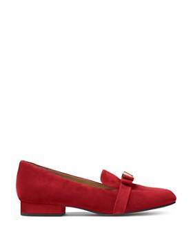 MICHAEL Michael Kors - Women's Caroline Suede Apron Toe Loafers