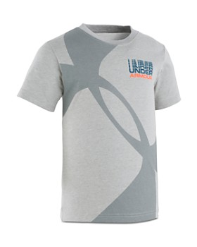 Under Armour - Boys' Dynamo Big Logo Tee - Little Kid