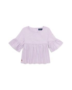 Polo Ralph Lauren - Girls' Bell-Sleeve Top - Little Kid